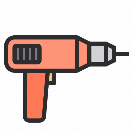 Construction, drill, tool, utensils icon - Download on Iconfinder