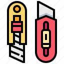 craft, cutter, stationery, tool icon