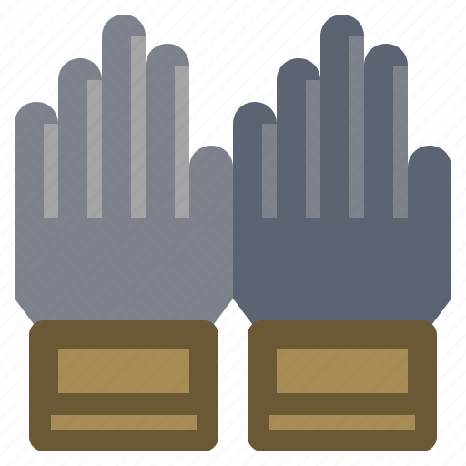 construction, fashion, glove, gloves, protection, safety, security icon
