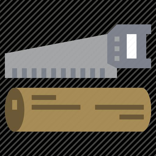 carpenter, carpentry, construction, hacksaw, repair, saw, sawing icon