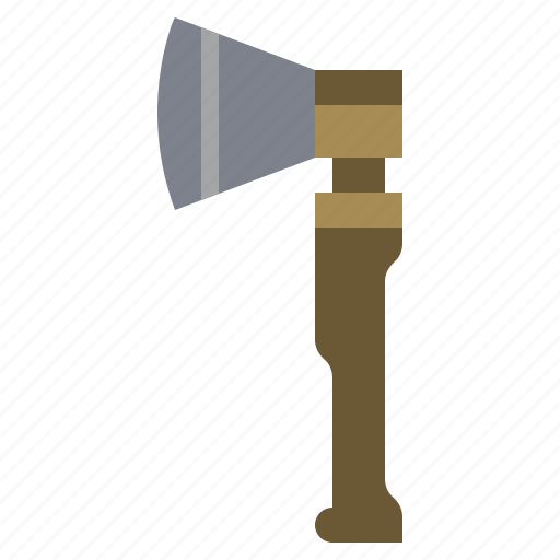 axe, hatchet, medieval, miscellaneous, tool, weapon, weapons icon