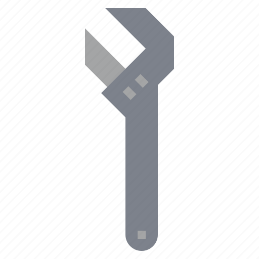 adjustable, garage, improvement, repair, repairing, tool, wrench icon