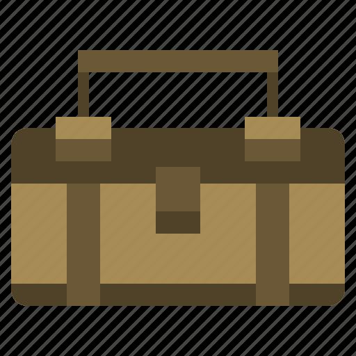 box, box tool, construction, kit, repair, repairin, tools icon