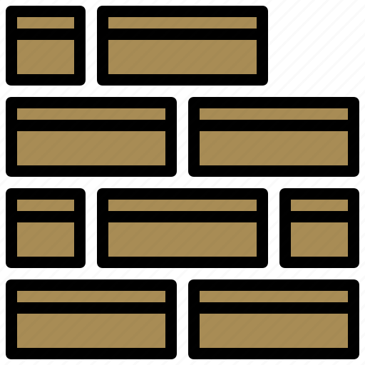 brick, buildings, construction, home, improvement, repair, wall icon