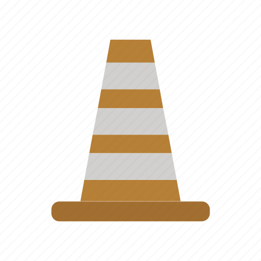cone, direction, dollar, money, road, sign, traffic icon