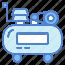 air, compressor, home, repair icon