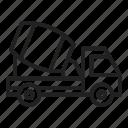 concrete, mixer, truck, construction