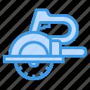 circular, saw, carpentry, construction, tool