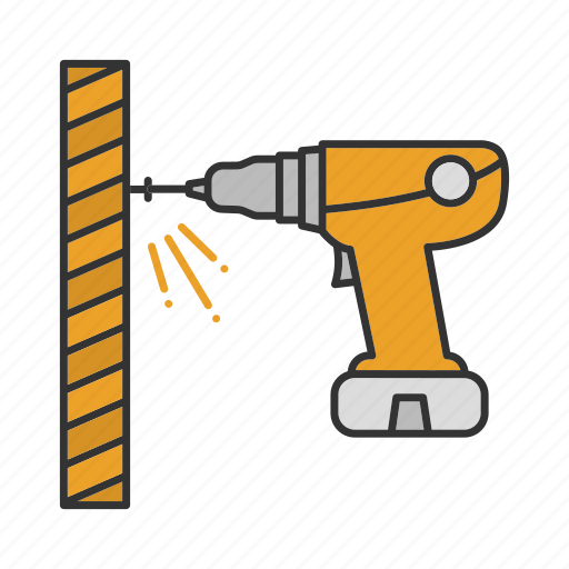 Cordless drill, drill, drilling, electric, perforator, screwdrive icon - Download on Iconfinder