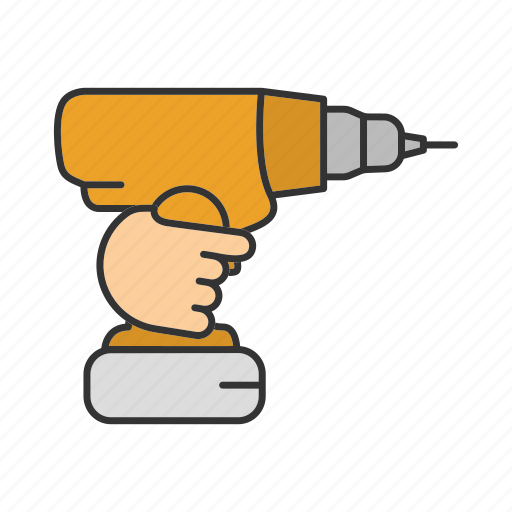 Cordless drill, drill, drilling, perforator, portable, screwdriver icon - Download on Iconfinder