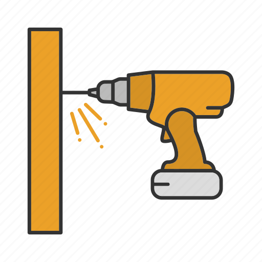 Cordless drill, drill, drilling, electric, perforator, screwdriver icon - Download on Iconfinder