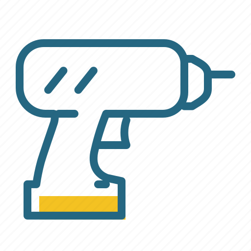 Construction, drill, repair, tool icon - Download on Iconfinder