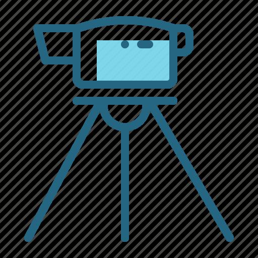 angle, construction, measurement, theodolite icon