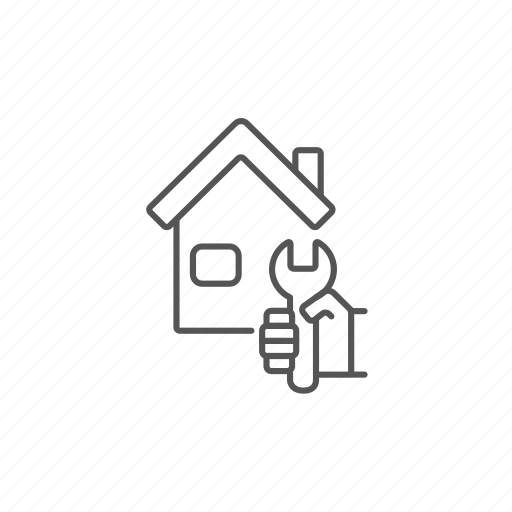 engineering, fix, house, maintenance, repair, service, tools icon