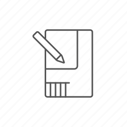 architecture, engineering, house, layout, pen, plan, project icon