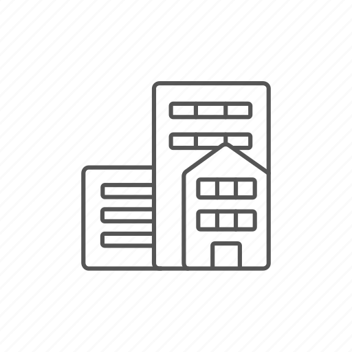 building, city, house, housing, office, property, residential icon