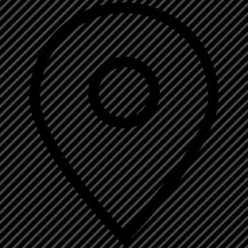 gps, location, map, map pin, navigation, navigation pin, pin icon