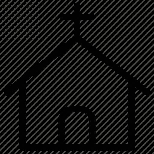 christian, church, church home, church house, worship house of christian icon