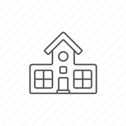 architecture, build, building, church, engineering, house, work icon