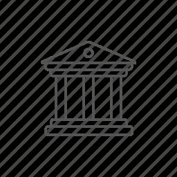 architecture, column, construction, culture, history, monument, museum icon
