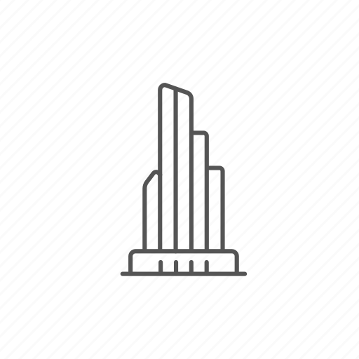 building, city, glass, office, skyscraper, tower, workplace icon