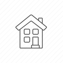 construction, cottage, engineering, home, house, property, storey icon