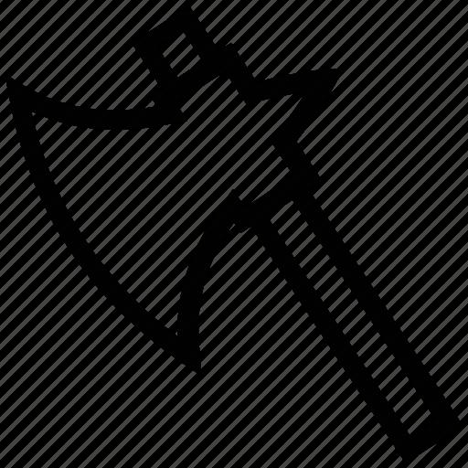 axe, axe tool, diy, lumber axe, tool, workshop icon
