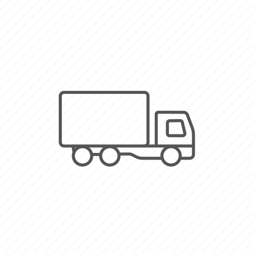 delivery, freight, logistics, shipment, transportation, truck icon