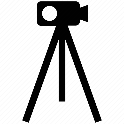 construction, equipment, stand, survey, theodolite, tripod icon