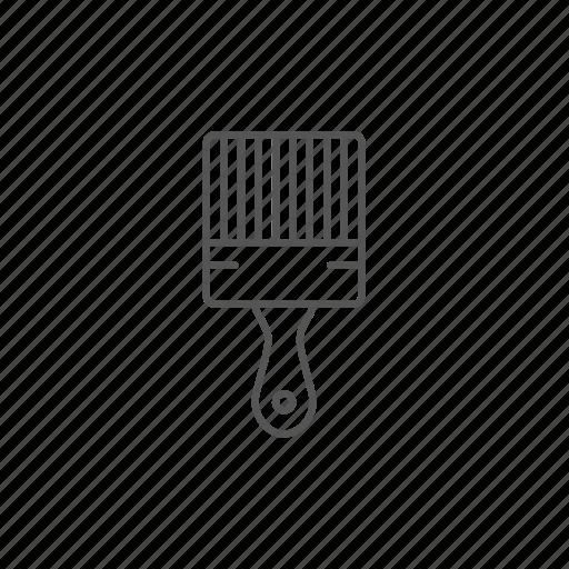 equipment, housework, paintbrush, renovation, repair, tool, work icon