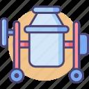 blender, concrete, concrete mixer, construction, mixer icon