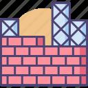 construction, construction site, site icon