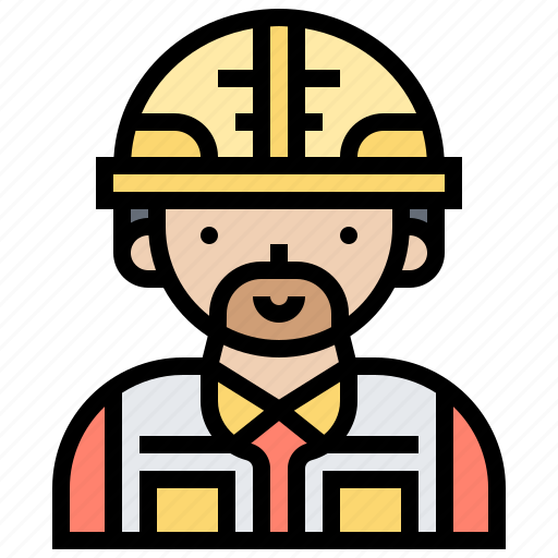 builder, construction, engineer, labour, worker icon