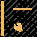 builder, construct, mechanic, repair, technician icon
