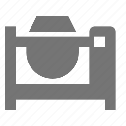 cement, construction, mixer icon