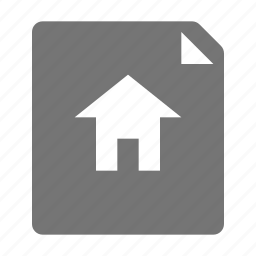 blueprint, construction, home, house icon