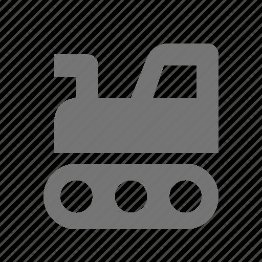 construction, truck icon