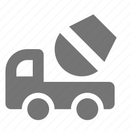 cement, construction, mixer, truck icon