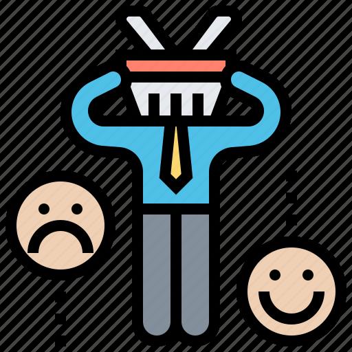 complaint, customer, feedback, opinion, rating icon