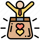 customer, excellent, loyalty, popular, reputation icon