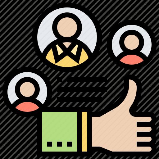 customer, feedback, pleasant, positive, satisfaction icon
