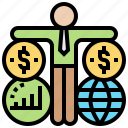analysis, business, market, segmentation, strategy icon