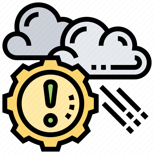 control, evaluating, prediction, reduction, risk icon