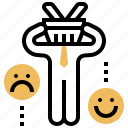 complaint, customer, feedback, opinion, rating icon