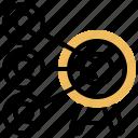 aim, focus, goal, market, target icon