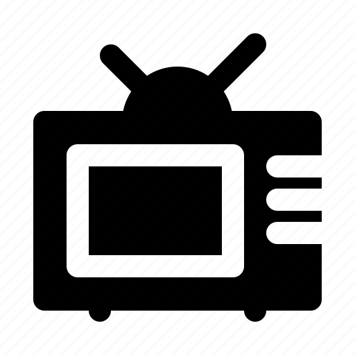 devices, electronics, products, technology, television icon
