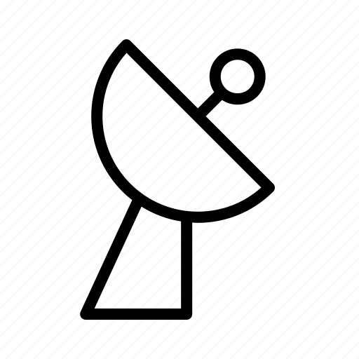 antenna, devices, electronics, products, satellite, technology icon