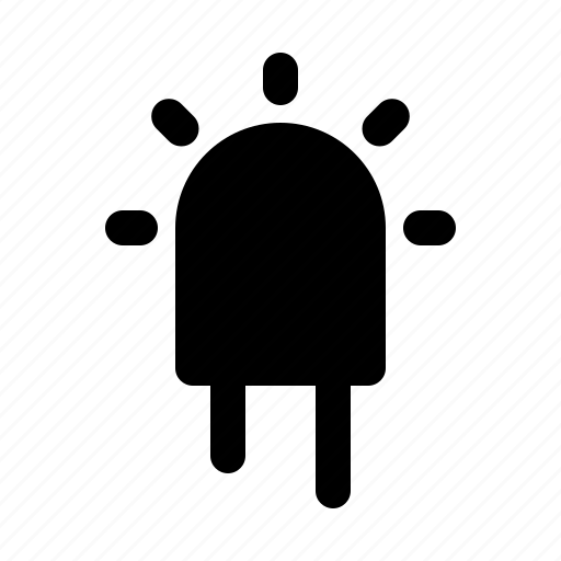 devices, electronics, led, products, technology icon