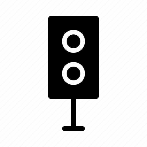 devices, electronics, products, speaker, technology icon