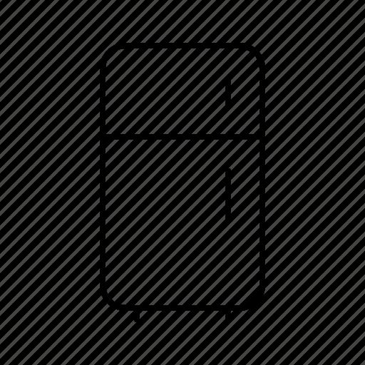 devices, electronics, fridge, products, technology icon